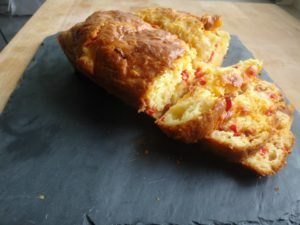 cake chorizo mozza