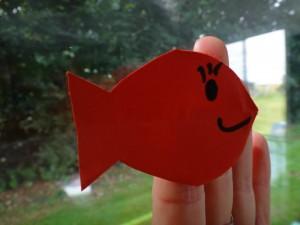 marionnette de doigt poisson