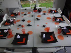 idée déco de table halloween