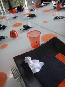 idée déco table halloween