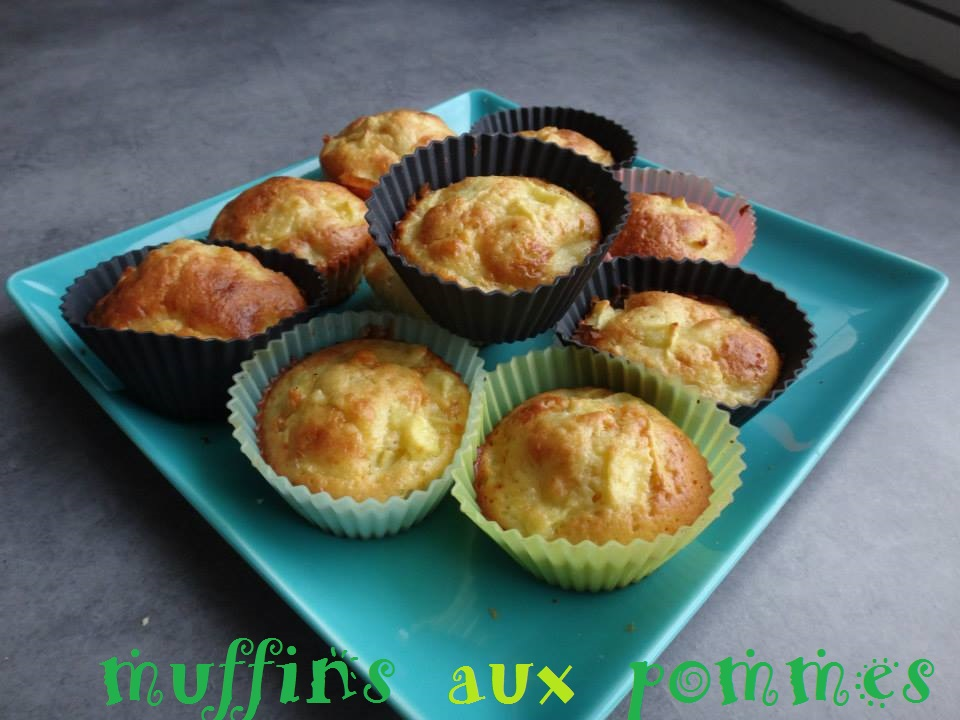 recette muffins aux pommes manzabull 39. Black Bedroom Furniture Sets. Home Design Ideas