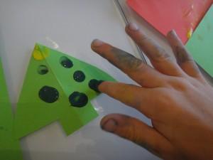 peindre avec ses mains