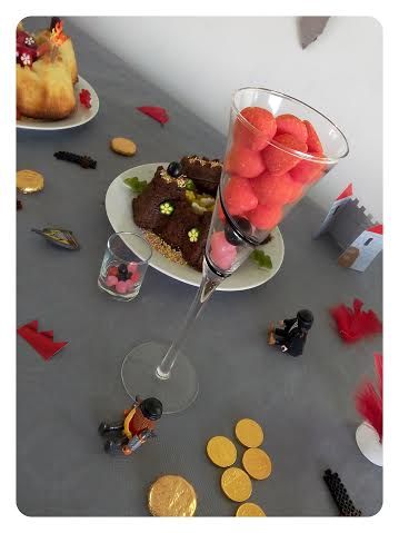 deco de table anniversaire chevalier