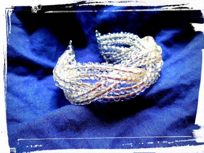 bracelet tressé rigide