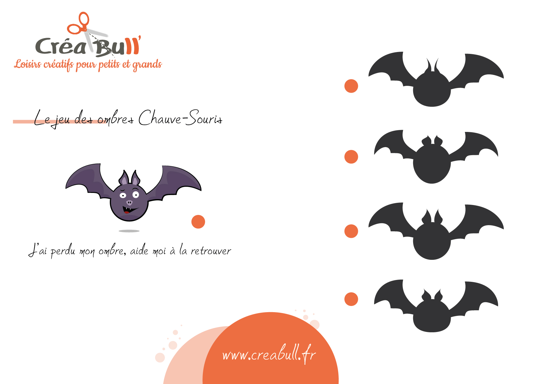 L 39 animal d 39 octobre special halloween la chauve souris manzabull 39 - Chauve souris a imprimer ...