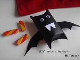 boite à bonbon halloween