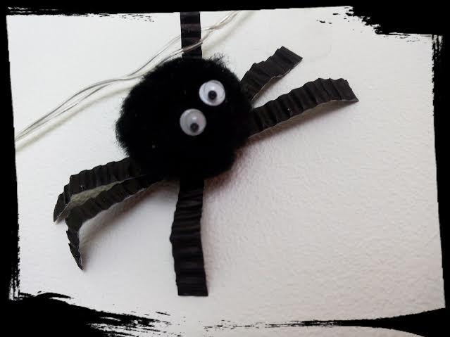 diy araignée activitée manuelle