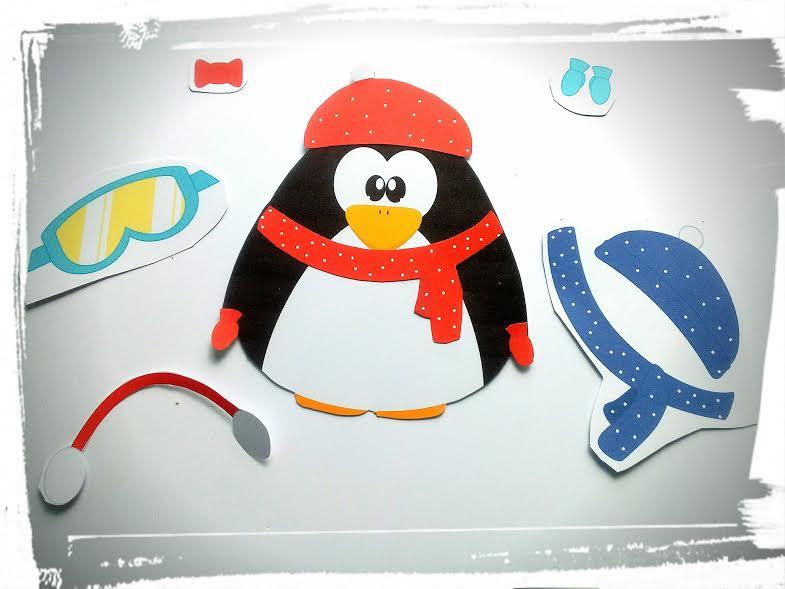 pingouin à habiller