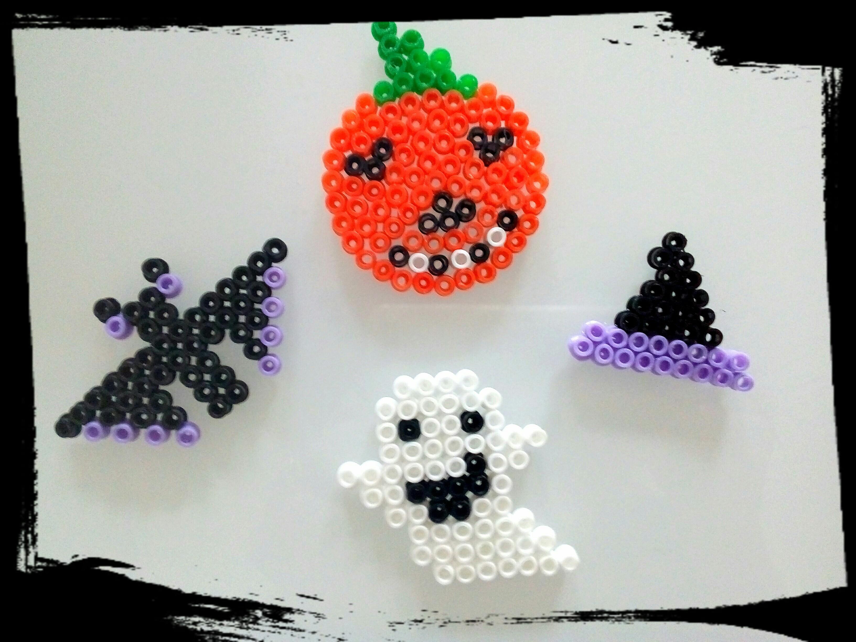 perles à repasser halloween