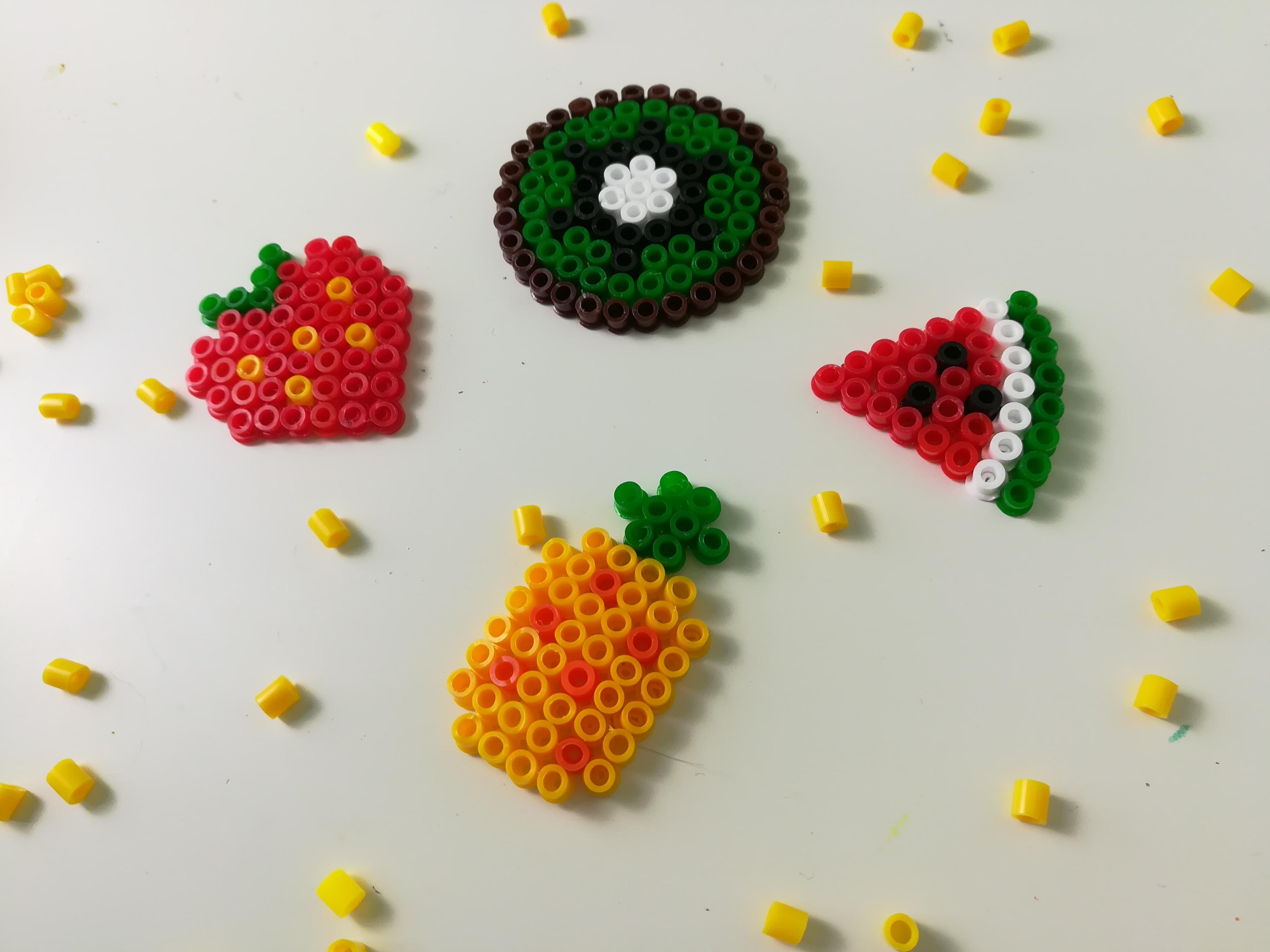 Perles Hama A Repasser Fruits Manzabull