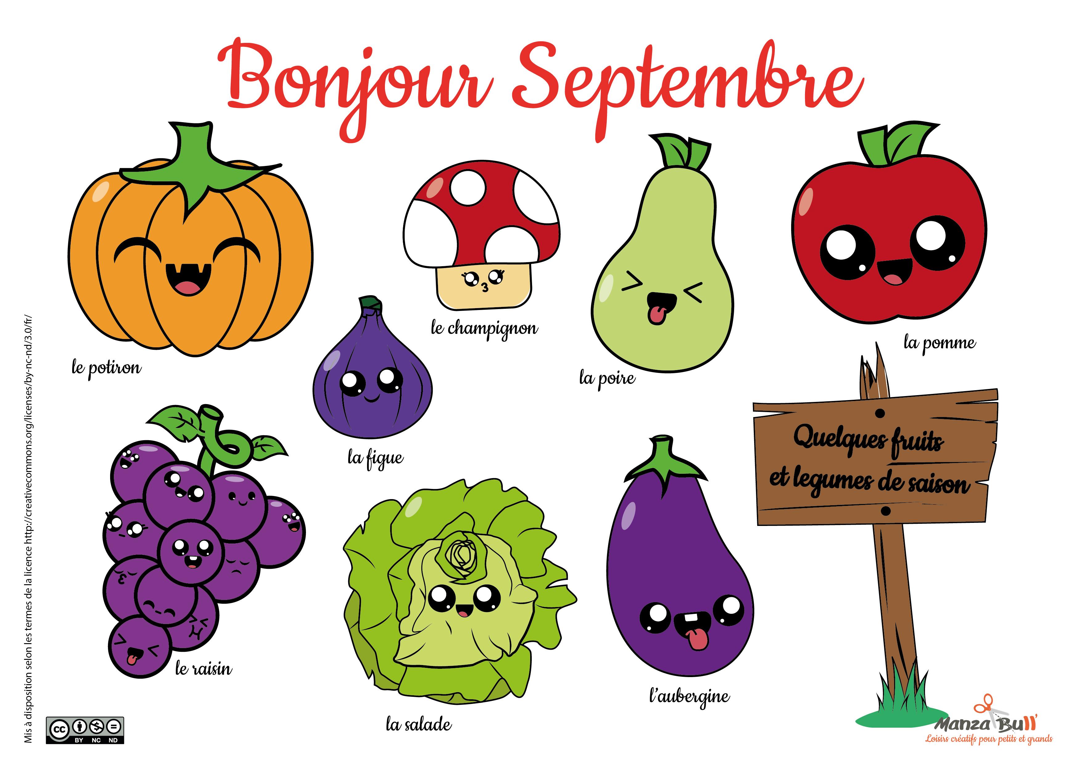 Coloriage Fruits Et Legumes De Saison Manzabull