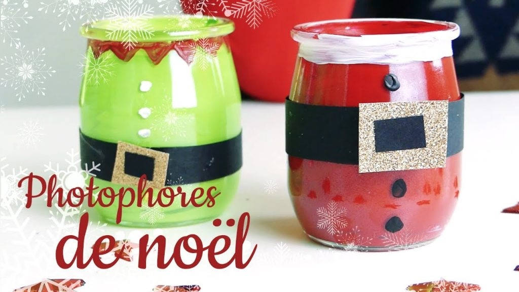 photophore Noël DIY