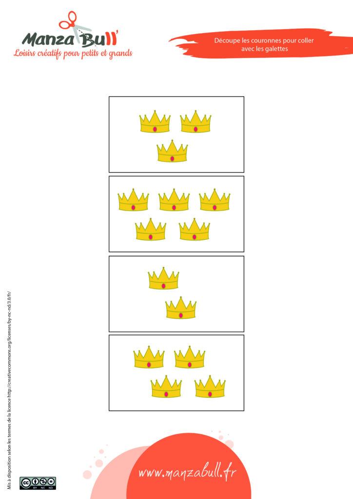 activité galette des rois - épiphanie