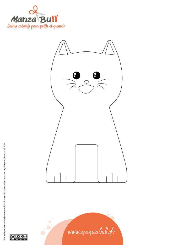 activité manuelle chat