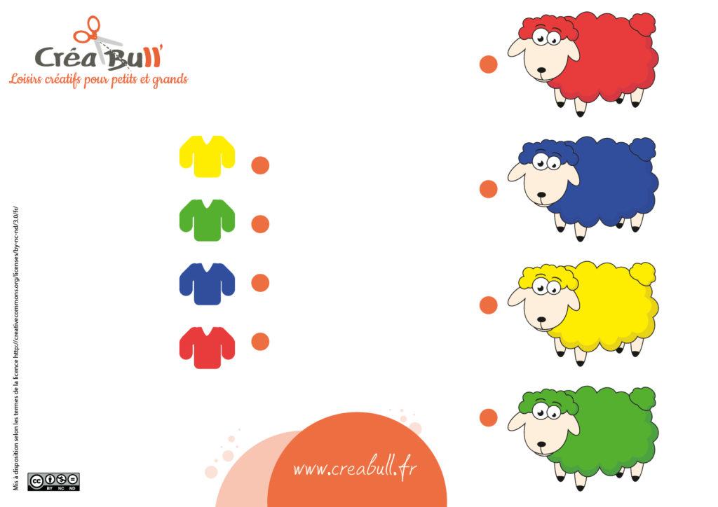 activités éducatives enfants : couleurs