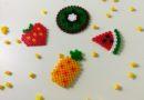 Perles hama à repasser fruits