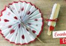 Cadeau saint valentin : éventail en papier
