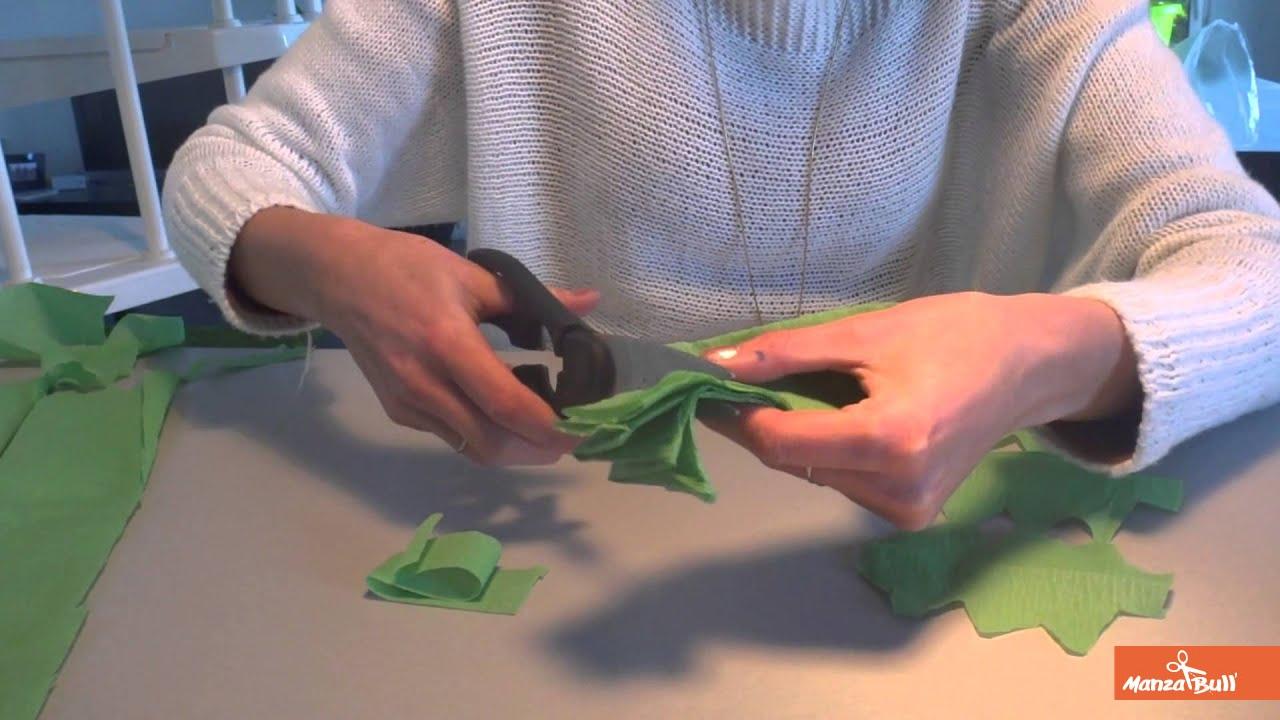 Fabriquer Sapin De Noel En Papier guirlande sapin en papier crépon - manzabull'
