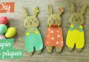 Lapin de Pâques en carton