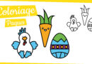 3 Coloriages de Pâques
