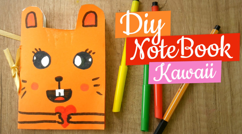 Diy notebook kawaii