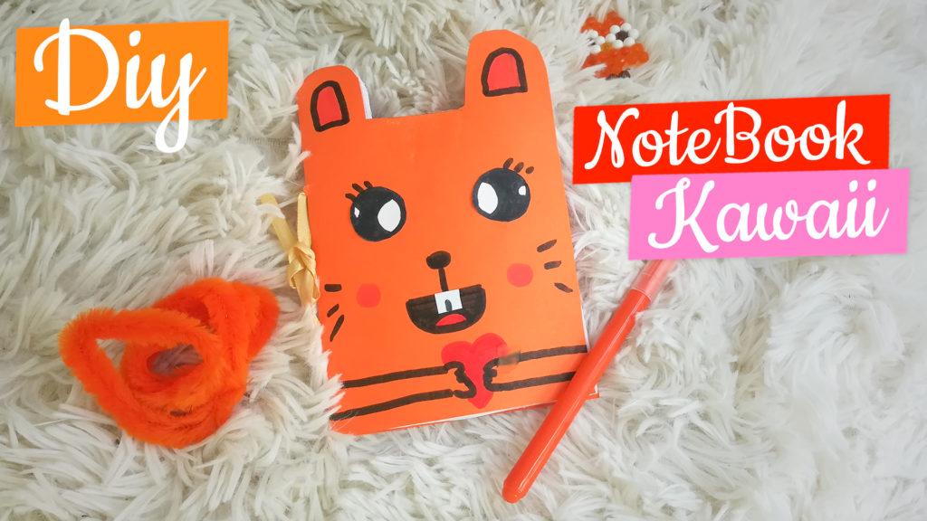 notebook kawaii pour la rentrée scolaire
