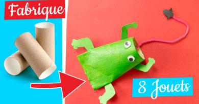 8 jouet DIY rouleau de papier toilette