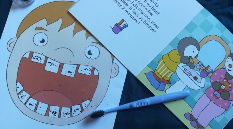 Activité brossage de dents