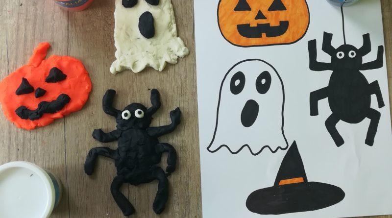 Activité pâte à modeler d'Halloween