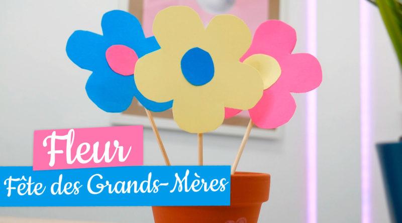 Activité fête des grands mères : pot de fleurs