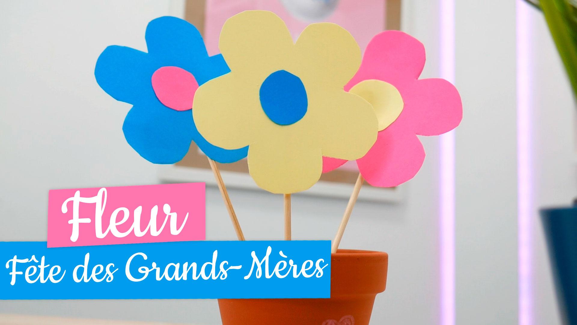 Activite Fete Des Grands Meres Pot De Fleurs Manzabull