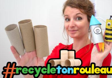 recycle ton rouleau : activité confinement