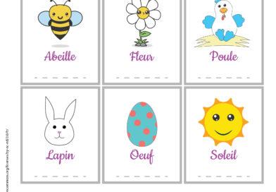 Imagier de printemps français / anglais