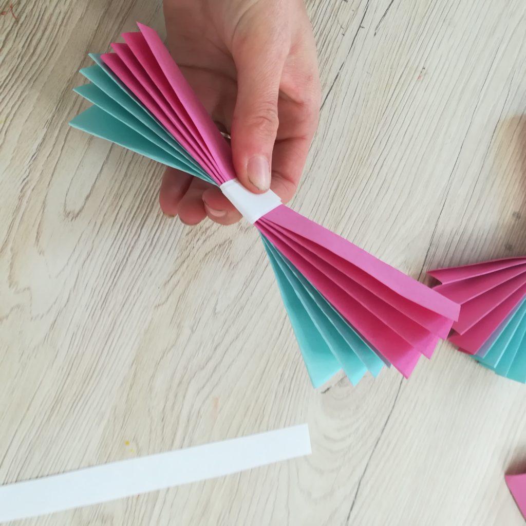activité papillon papier