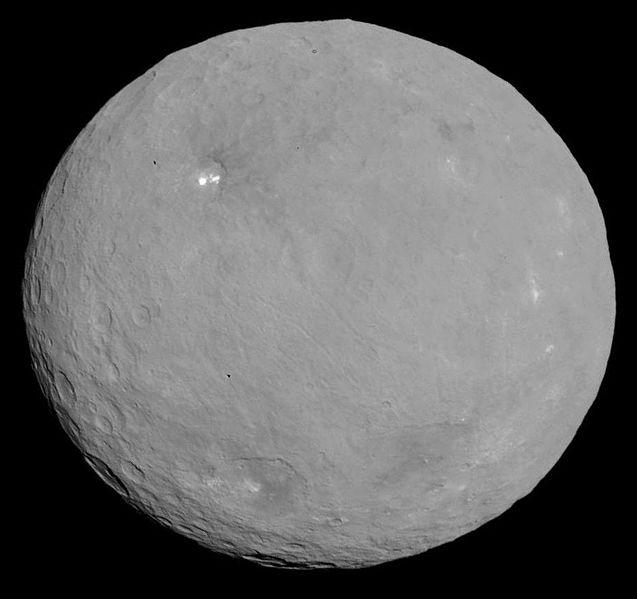 Cérès un des plus gros astéroïdes