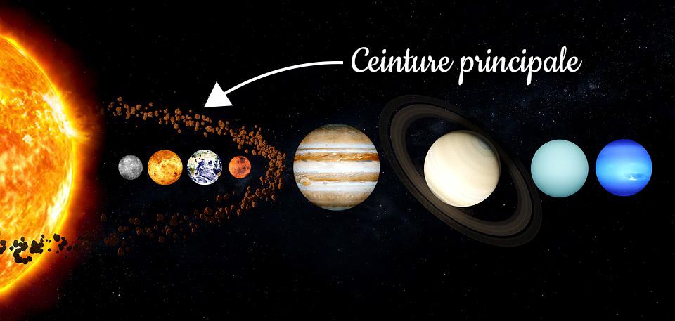 ceinture principale d'astéroide