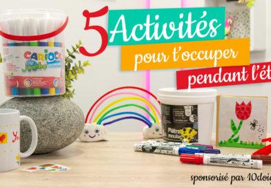 5 activités manuelles pour les vacances