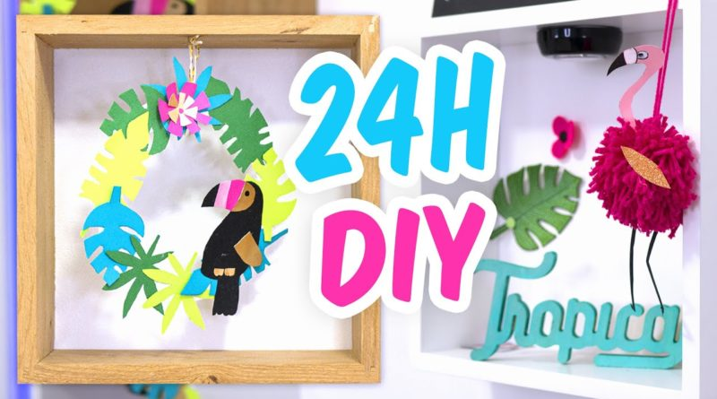 DIY déco tropicale