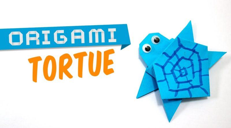 Tuto origami tortue