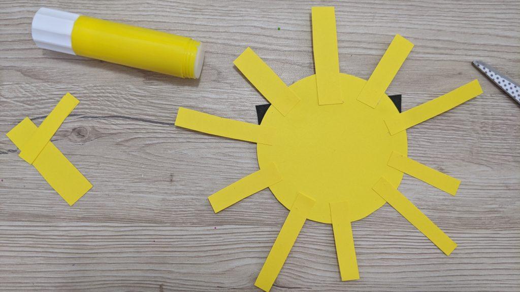 collage rayon du soleil