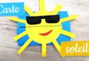 Activité d'été Carte soleil
