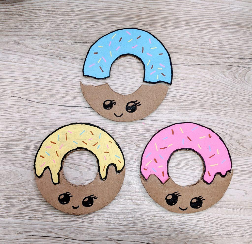 puzzule donuts montessori