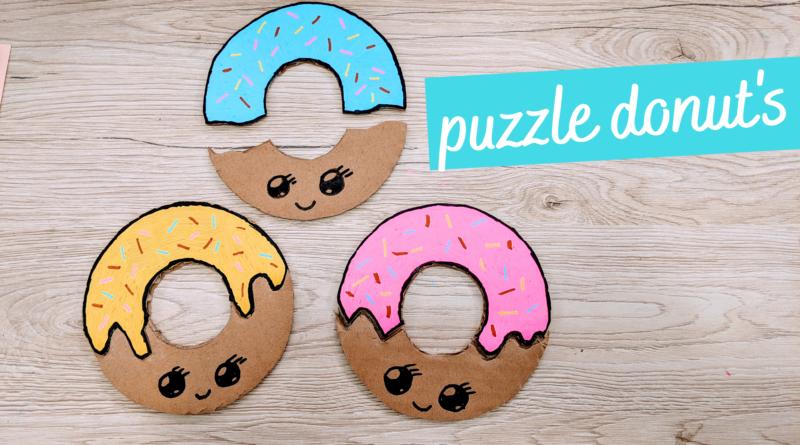 Puzzle Montessori Donuts