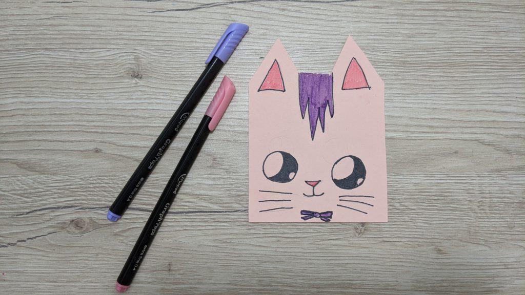 dessiner un joli chat