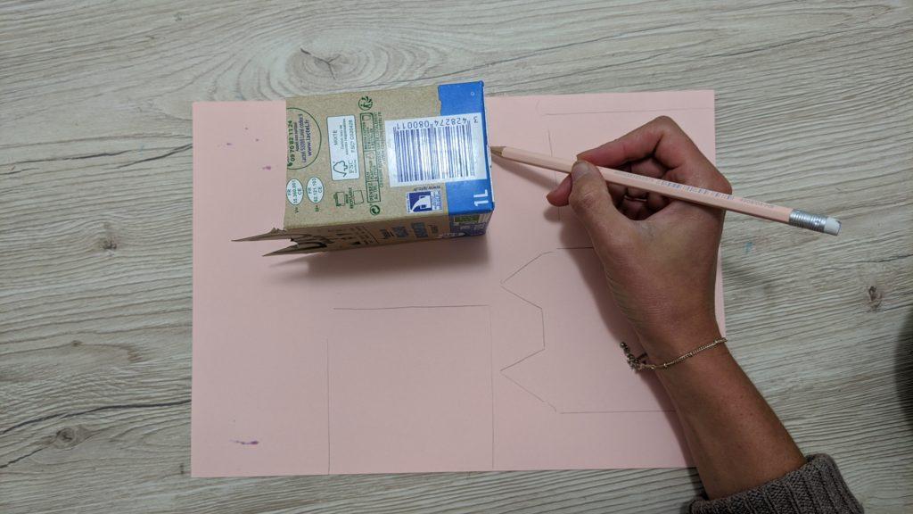 tracer les formes de la brique