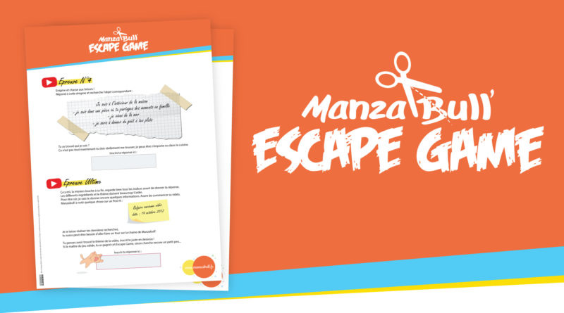 Escape Game des Manzas