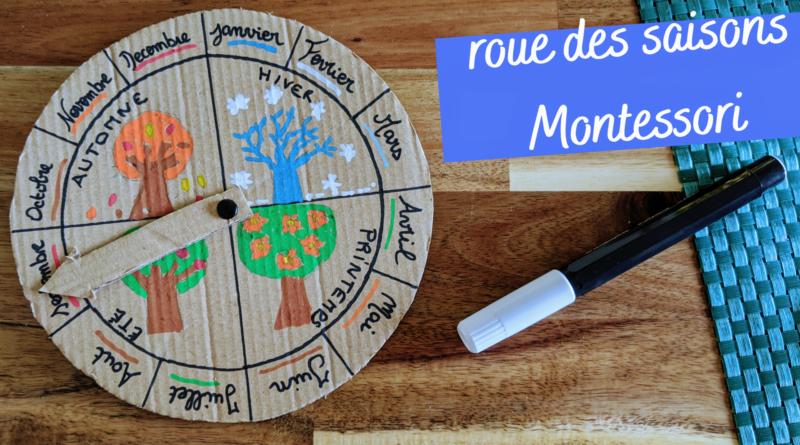 Outil Montessori pour l'apprentissage des saisons