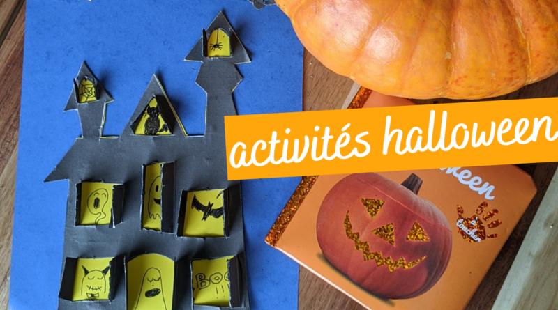 Activité halloween : maison Hantée