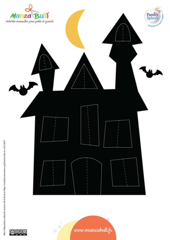 patrons maison hantée halloween