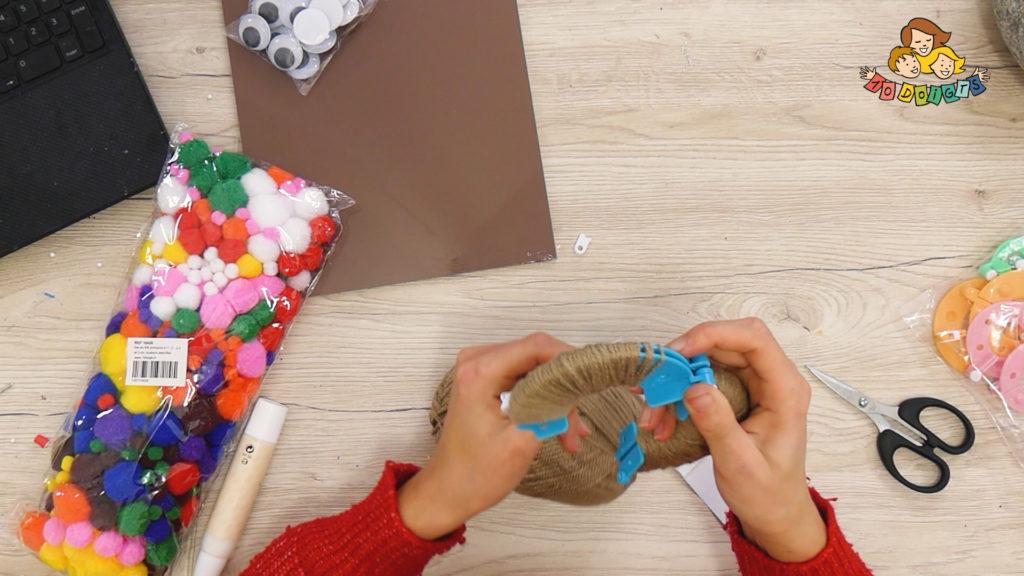 création pompon